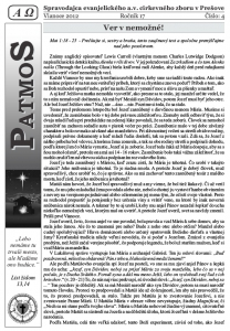 Časopis Patmos 2012-04