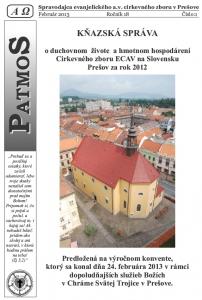 Časopis Patmos 2013-01