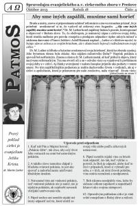 Časopis Patmos 2013-04