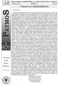 Časopis Patmos 2013-05