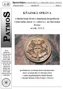 Časopis Patmos 2014-01