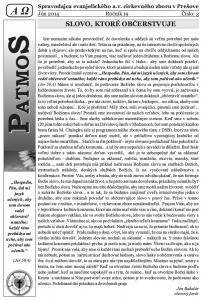 Časopis Patmos 2014-03