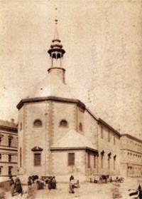 Chrám Sv. Trojice v 19. storočí