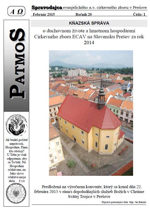 Časopis Patmos 2015-01