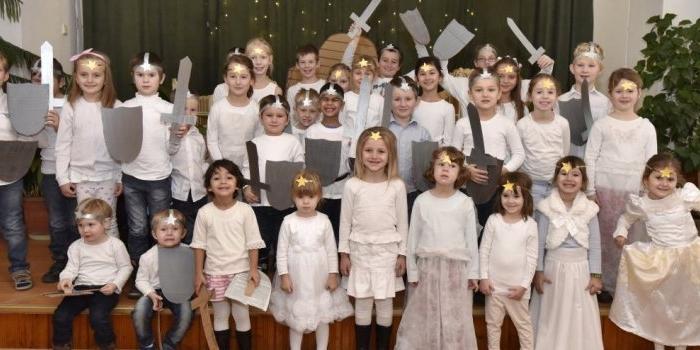 Detská besiedka - Vianoce 2015