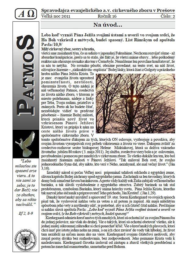 Časopis Patmos 2011-02
