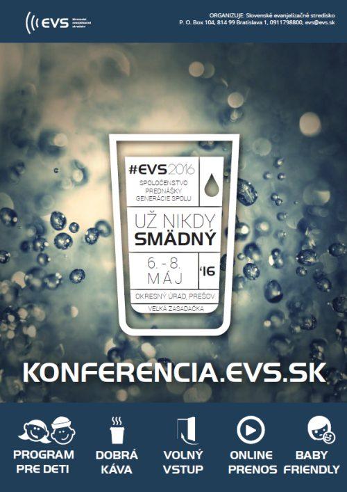 EVS konferencia plagát