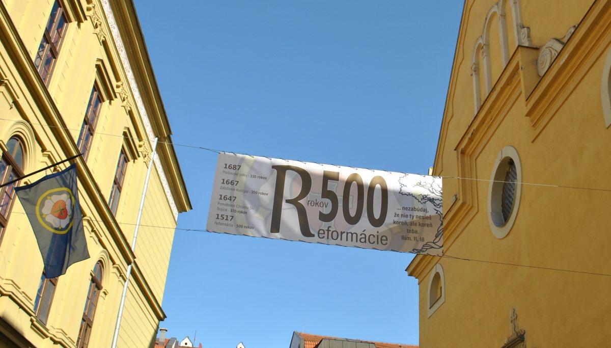 500 rokov reformácie - Banner